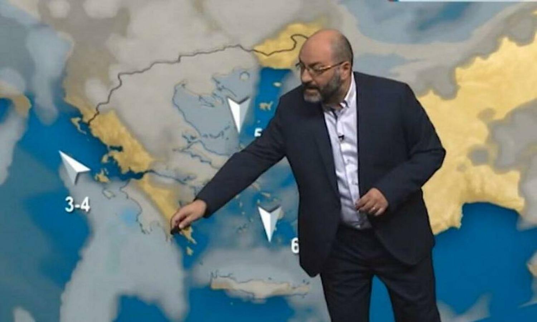 Ο Αρναούτογλου προειδοποιεί: 'Ερχεται κακοκαιρία – εξπρές με βροχές και χιόνια! (ΒΙΝΤΕΟ)