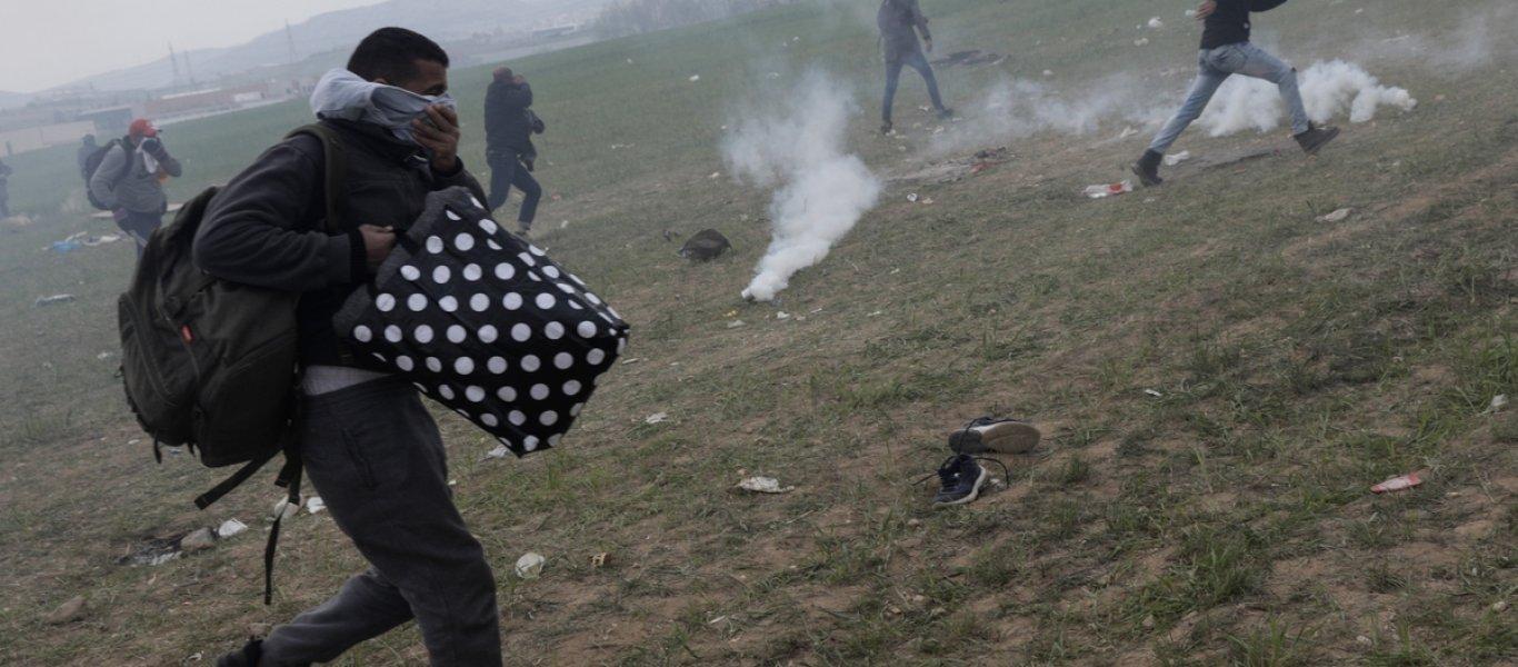 ΝΤΟΥ χιλιάδων Αφγανών στην πόλη της Μυτιλήνης: Σφοδρές συγκρούσεις με την Αστυνομία – Σε επιφυλακή ο Στρατός! (ΦΩΤΟ&ΒΙΝΤΕΟ)