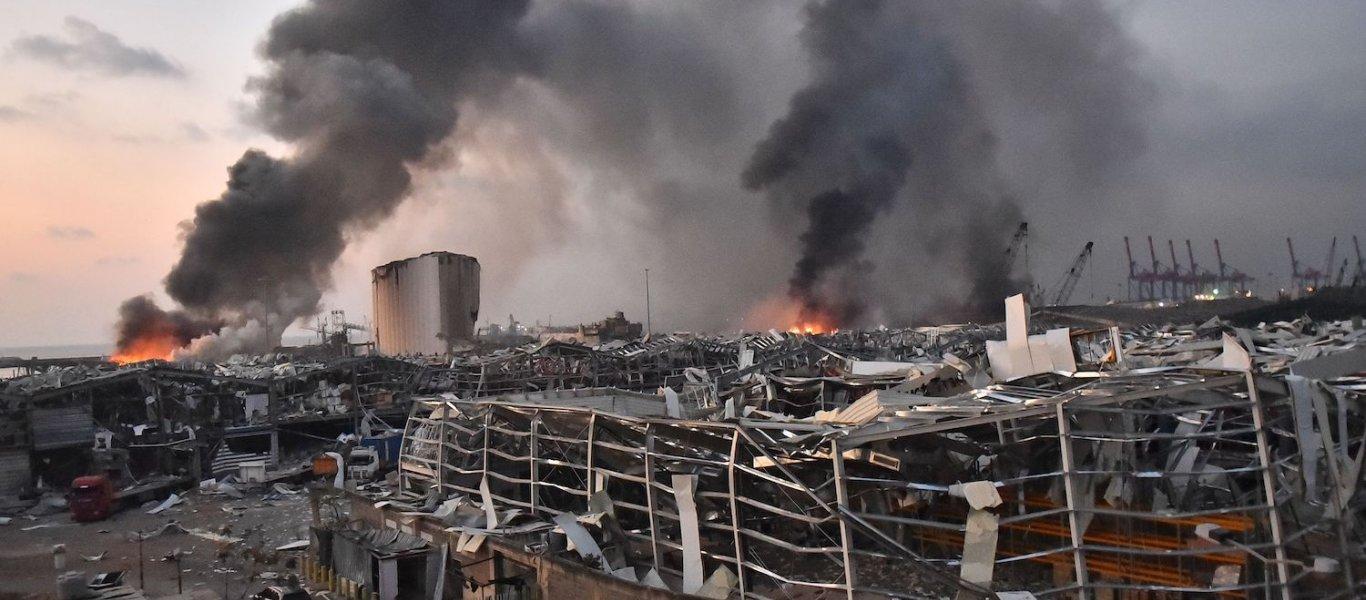 Έκρηξη στη Βηρυτό: Τους 100 έφτασαν οι νεκροί – Ηλεκτροσυγκόλληση η πιθανή αιτία της έκρηξης! – Έξι χρόνια στις αποθήκες οι 2.750 τόνοι νιτρικού αμμωνίου! (ΒΙΝΤΕΟ)