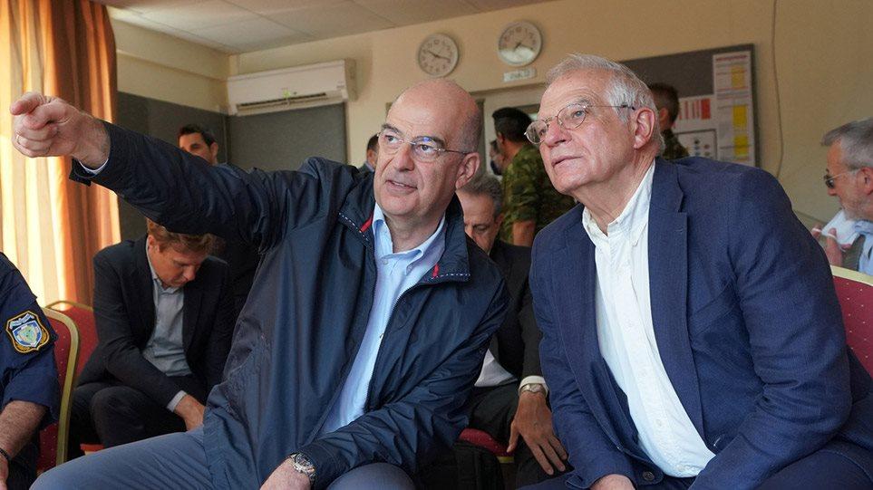 Μήνυμα Μπορέλ από τον Έβρο: Τα συμφέροντα της Ελλάδας είναι και ευρωπαϊκά, ισχυρή η αλληλεγγύη μας!