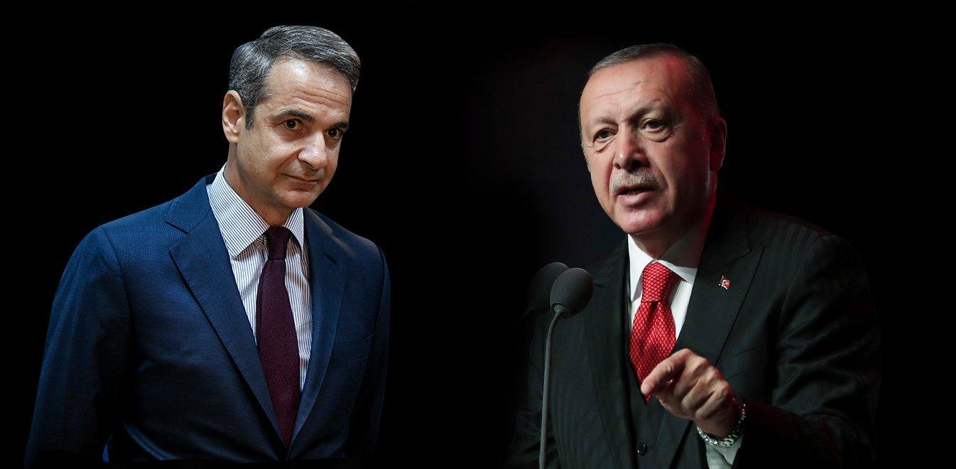 Τηλεφωνική επικοινωνία Μητσοτάκη – Ερντογάν! Έθεσε τις τουρκικές προκλήσεις;