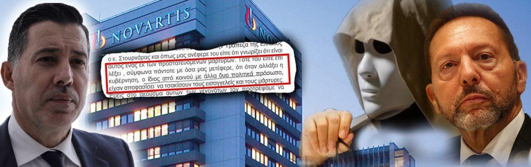 ΚΑΤΑΙΓΙΣΤΙΚΕΣ ΑΠΟΚΑΛΥΨΕΙΣ για τη NOVARTIS – Εισαγγελείς Διαφθοράς για Στουρνάρα: Έλεγε ότι «όταν αλλάξει η κυβέρνηση θα τσακίσουμε δικαστικούς και μάρτυρες»! (ΕΓΓΡΑΦΟ)