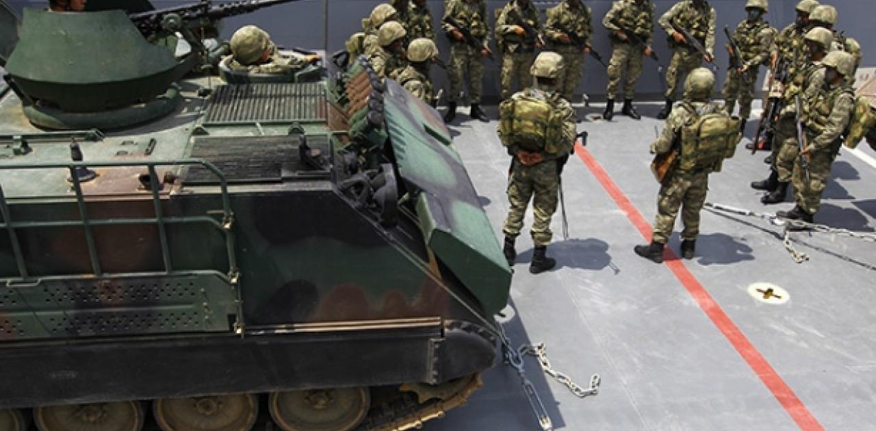 """Σε πολεμική ετοιμότητα οι Τούρκοι """"κροκόδειλοι"""": Θέμα χρόνου η απόβαση στηνΤρίπολη – Κινητικότητα στην Ταξιαρχία πεζοναυτών στη Σμύρνη! (ΦΩΤΟ)"""