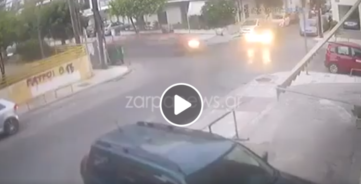 Βίντεο-σοκ: Συνελήφθη ο οδηγός που προκάλεσε το φρικτό τροχαίο στα Χανιά!