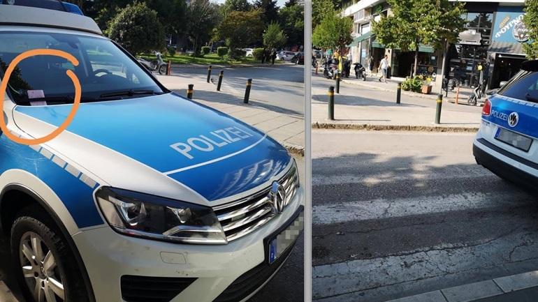 Μπράβο στον αστυνομικό της Τροχαίας Ιωαννίνων που τόλμησε και το έκανε! Αστυνομικός έκοψε κλήση σε γερμανικό περιπολικό της Frontex!