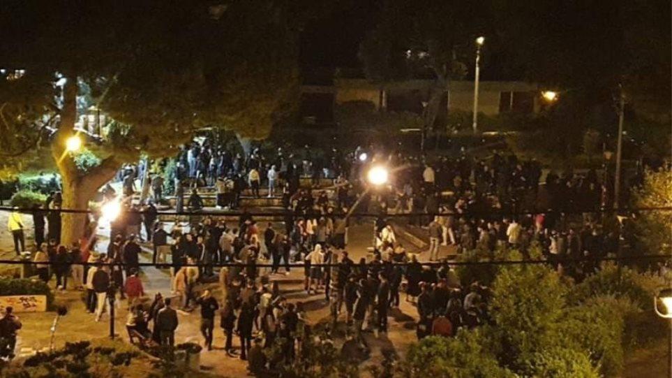 Χαρδαλιάς: Κλείνει επ' αόριστον η πλατεία Αγίου Ιωάννη στην Αγία Παρασκευή μετά το πάρτι! (ΒΙΝΤΕΟ)