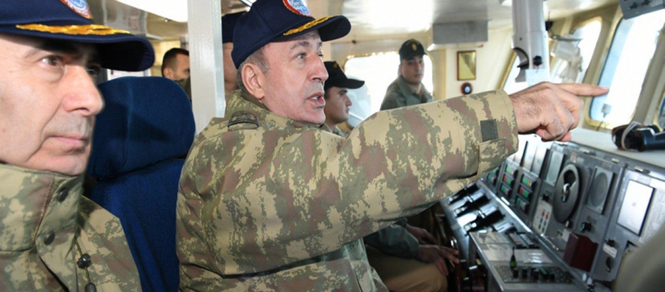 """Απειλεί o Χ.Ακάρ: «Μείνετε 6 ν.μ. μακριά από το """"Όρουτς Ρέις"""" – Το τουρκικό Ναυτικό έχει ξεκάθαρες εντολές»"""