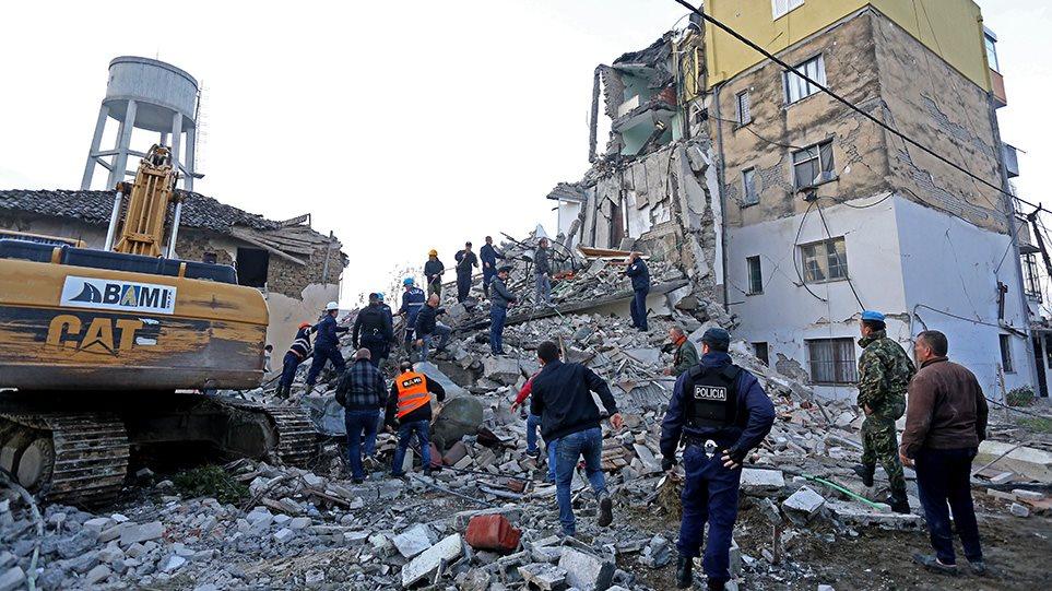 Φονικός σεισμός 6,4 Ρίχτερ στην Αλβανία: Τουλάχιστον 13 οι νεκροί, 600 οι τραυματίες!