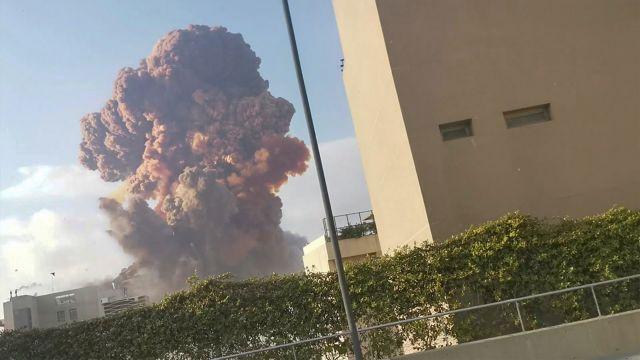 Λίβανος:Εκρήξεις συγκλόνισαν τη Βηρυττό – Τουλάχιστον 10 νεκροί (βιντεο)