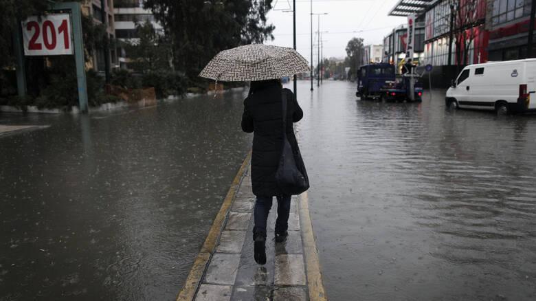 Έκτακτο δελτίο επιδείνωσης καιρού: Έρχονται καταιγίδες και χαλαζοπτώσεις – Πού θα «χτυπήσουν»