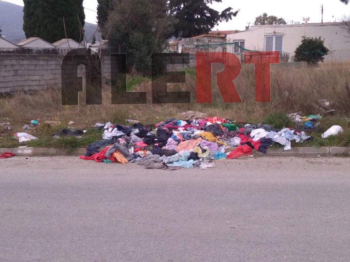 ΔΕΙΤΕ τι γίνεται στον Γέρακα πίσω από το νεκροταφείο! Γέμισε ο τόπος με ρούχα και σκουπίδια! (ΦΩΤΟ ΑΛΕΡΤ)