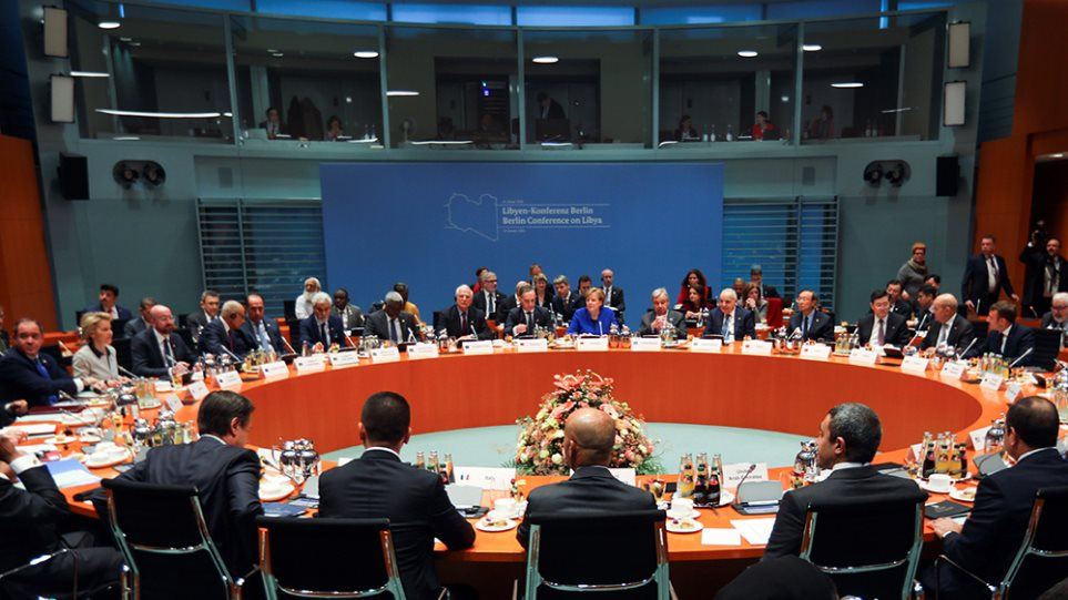 Διάσκεψη για τη Λιβύη: Συμφώνησαν να επιβληθεί εκεχειρία και να τερματιστεί η ξένη στρατιωτική παρέμβαση! (φωτο)
