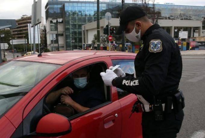 Μπαράζ ελέγχων από την αστυνομία για την εφαρμογή των μέτρων για τον κορωνοϊό!