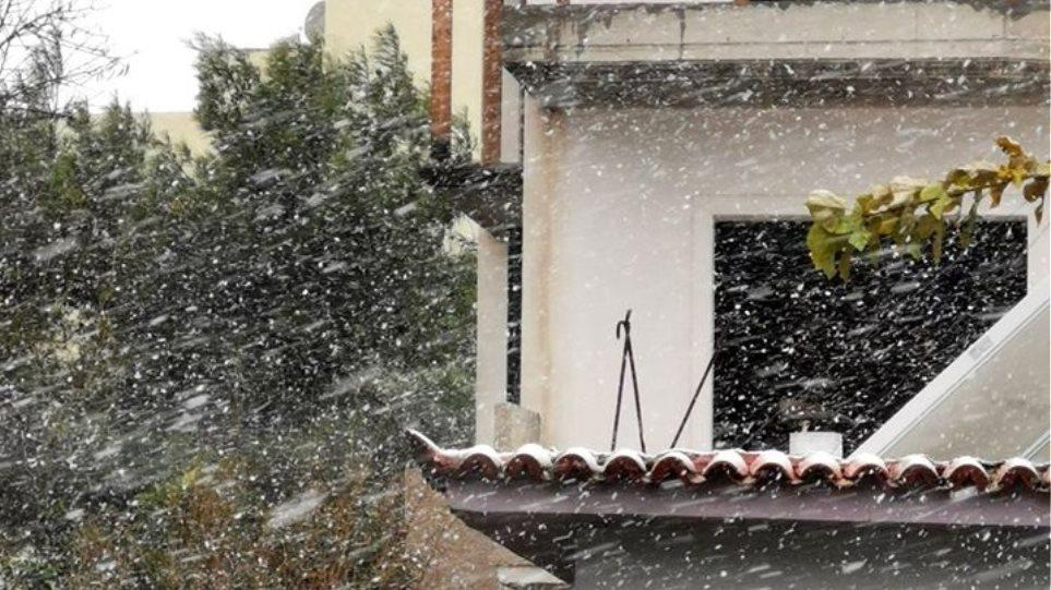 Κακοκαιρία «Ζηνοβία»: Χιόνι στο κέντρο της Αθήνας και σε γειτονιές του Πειραιά – Δείτε βίντεο