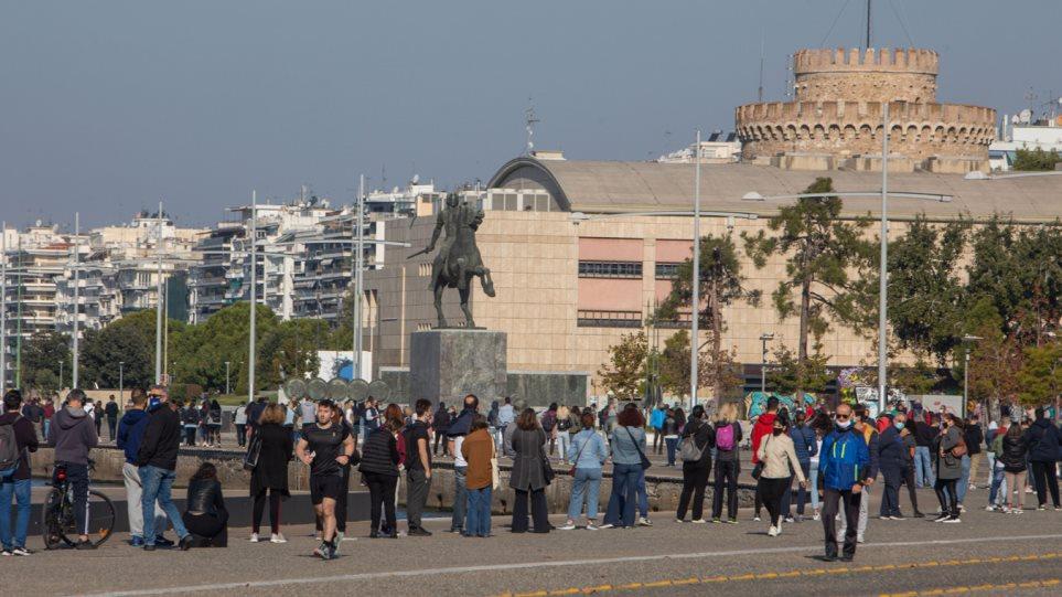 Θεσσαλονίκη: Ουρές για τεστ λίγο πριν το lockdown – Στο «κόκκινο» Ιωάννινα και Σέρρες, ετοιμάζεται η Αθήνα!