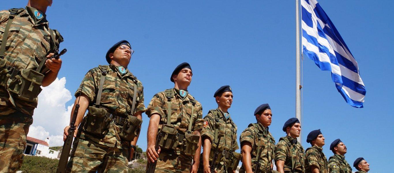 «Σείστηκε» το Καστελόριζο από τον Εθνικό Ύμνο των Ελλήνων στρατιωτών! (βίντεο)