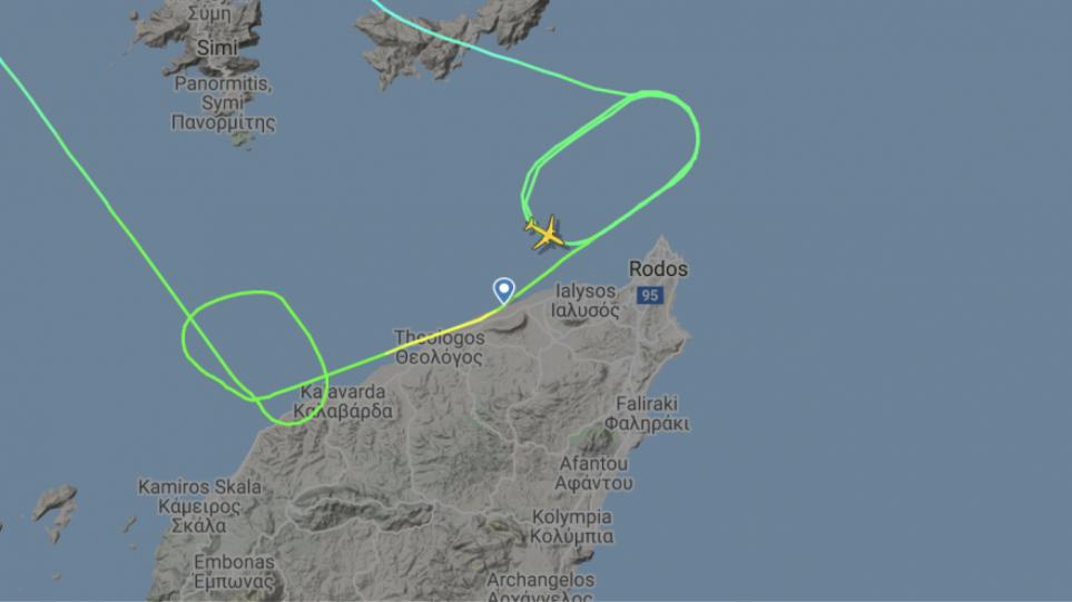 Τρόμος στον αέρα: Αεροπλάνο επιχείρησε… τρεις φορές να προσγειωθεί στη Ρόδο και τελικά επέστρεψε στην Αθήνα!