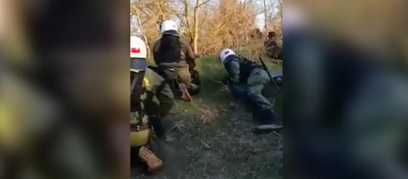 Τα ΜΑΤ απάντησαν στα τουρκικά πυρά με βολές πάνω από τα κεφάλια των Τούρκων! (βίντεο)