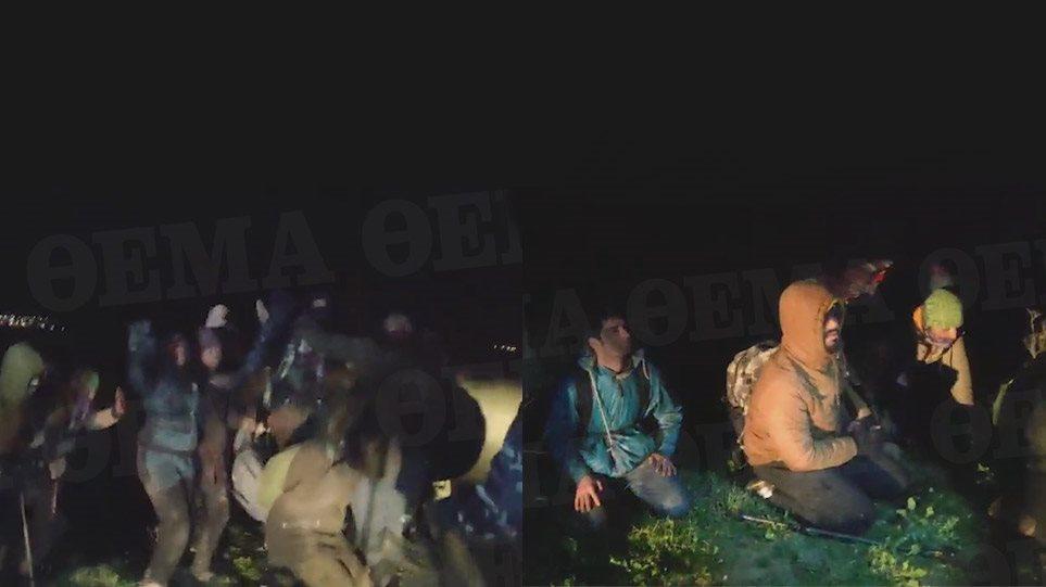 Βίντεο-ντοκουμέντο από τον Έβρο: Πολίτες «συλλαμβάνουν» μετανάστες μέσα σε χωράφια!