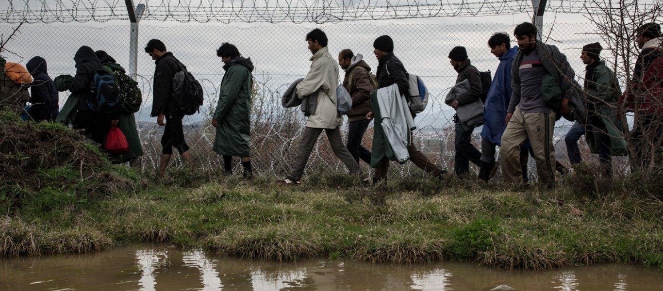Έβρος: Καταδιώξεις διακινητών & παράνομων μεταναστών από την ΕΛ.ΑΣ. – Τραυματισμοί και πτώσεις σε χαράδρα!