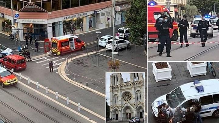 Φρίκη στη Γαλλία: Αποκεφάλισαν γυναίκα στη Νίκαια – Τρεις οι νεκροί από την επίθεση σε εκκλησία! (φωτο&βιντεο)
