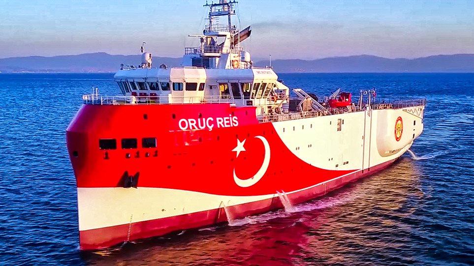 H Τουρκία ζητάει και τα ρέστα μετά τη σύνοδο της Κορσικής: Να αποσύρει η Ελλάδα τα πλοία της γύρω από το Oruc Reis!