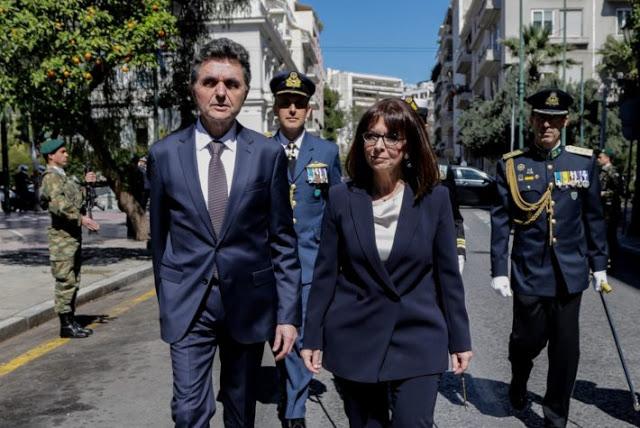 ΑΜΙΣΘΟΣ! ΔΙΟΡΙΣΕ τον σύντροφό της στην Προεδρία της Δημοκρατίας η Κ. Σακελλαροπούλου…
