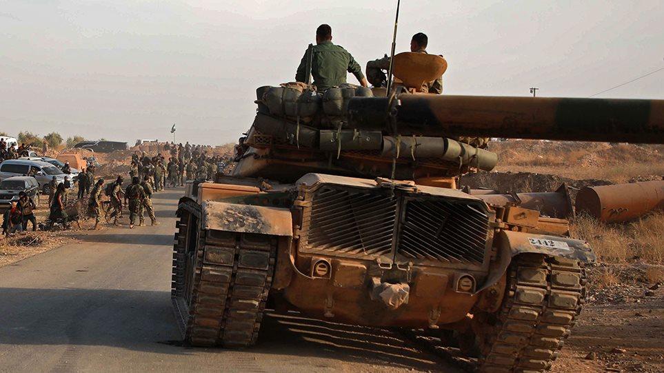 Συρία: Αντιστέκονται οι Κούρδοι στην τουρκική εισβολή – Σφοδρές συγκρούσεις στη Μανμπίτζ!