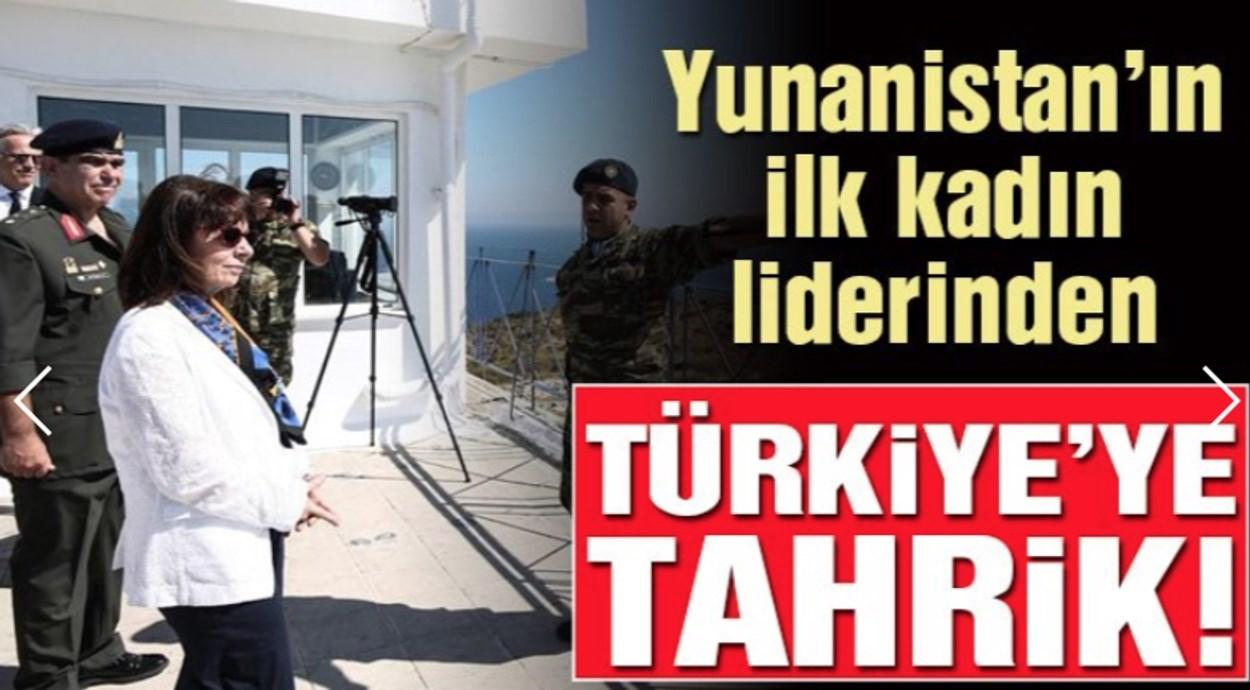 Επίθεση από τουρκικά ΜΜΕ στην Κατερίνα Σακελλαροπούλου – Τι γράφουν για την επίσκεψη στο Αγαθονήσι!