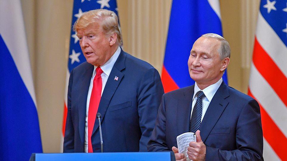 «Πόλεμος» Τραμπ – Πούτιν για τον Nord Stream 2: Θα ζητήσουν να σταματήσουμε να αναπνέουμε, λέει η Μόσχα!