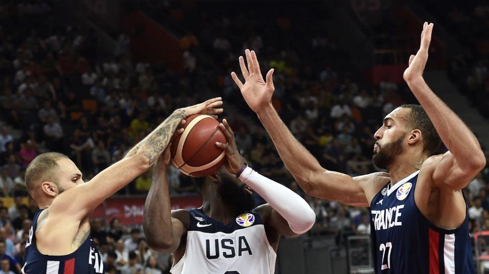 Μουντομπάσκετ 2019: Αποκλεισμός-σοκ για τις ΗΠΑ – Ηττήθηκαν από τη Γαλλία με 89-79