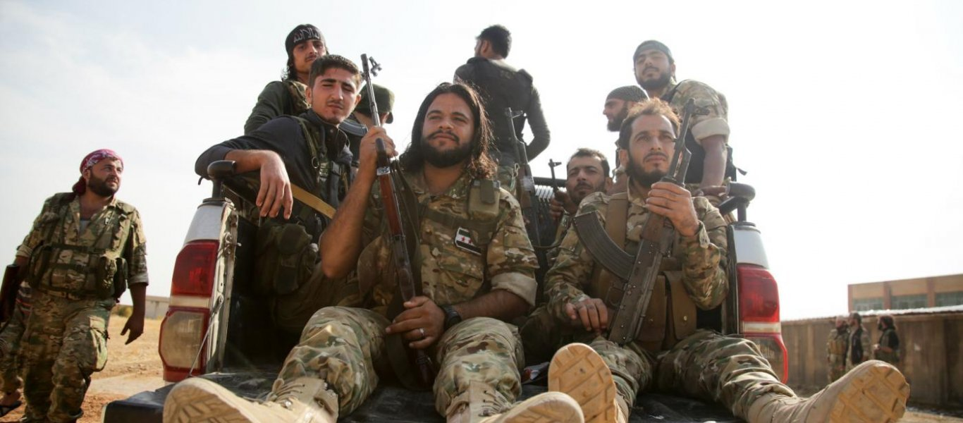 Τουρκικά ΜΜΕ: «Αν γίνει πόλεμος με την Ελλάδα θα πολεμήσουν και Τουρκμένοι μισθοφόροι από την Συρία»