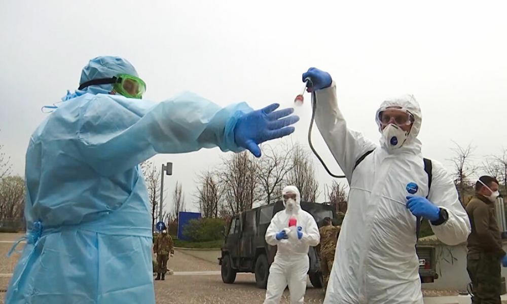 """Ρωσικό ΜΜΕ: """"Επιστήμονες είδαν «παράξενους» θανάτους στην Λομβαρδία"""" – Τι κατέγραψε η ειδική μονάδα που έστειλε η Μόσχα! (BINTEO)"""