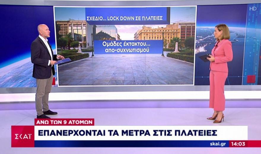 Το σχέδιο της ΕΛ.ΑΣ. για «lockdown» σε πλατείες!