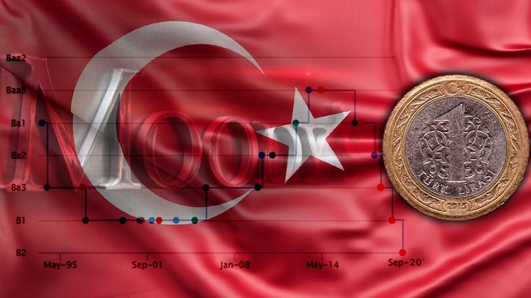 Δραματική υποβάθμιση της τουρκικής οικονομίας από τη Moody's!
