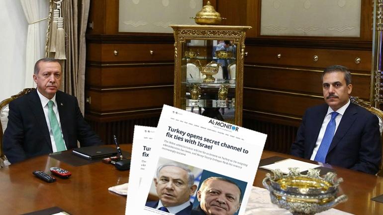 Μυστικές επαφές μεταξύ Τουρκίας και Ισραήλ