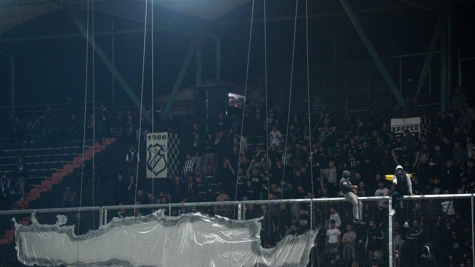 Super League 1: Ένταση και λιποθυμικό επεισόδιο οπαδού στο ΟΦΗ-ΑΕΚ!