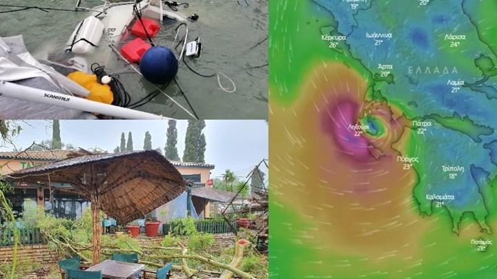 """""""Ιανός"""": Στο μάτι του κυκλώνα Ζάκυνθος, Ιθάκη, Κεφαλονιά και Ηλεία – Ζημιές και διακοπές ρεύματος – ΦΩΤΟ – ΒΙΝΤΕΟ"""