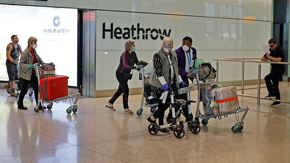 Αντίποινα Βρετανίας σε Ελλάδα: Υποχρεωτική καραντίνα για τους ταξιδιώτες από τη χώρα μας!