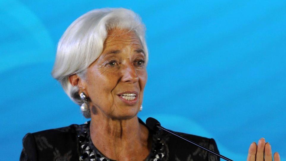 Κριστίν Λαγκάρντ: Οι μεταλλάξεις απειλούν την οικονομική ανάκαμψη της Ευρωζώνης