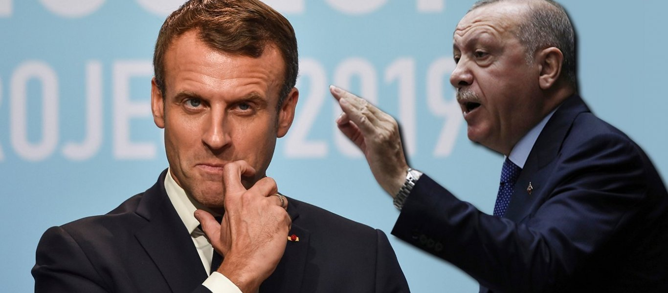 Ρ.Τ.Ερντογάν: «Αν ο Μακρόν παραμείνει πρόεδρος της Γαλλίας τα κίτρινα γιλέκα θα γίνουν κόκκινα»!