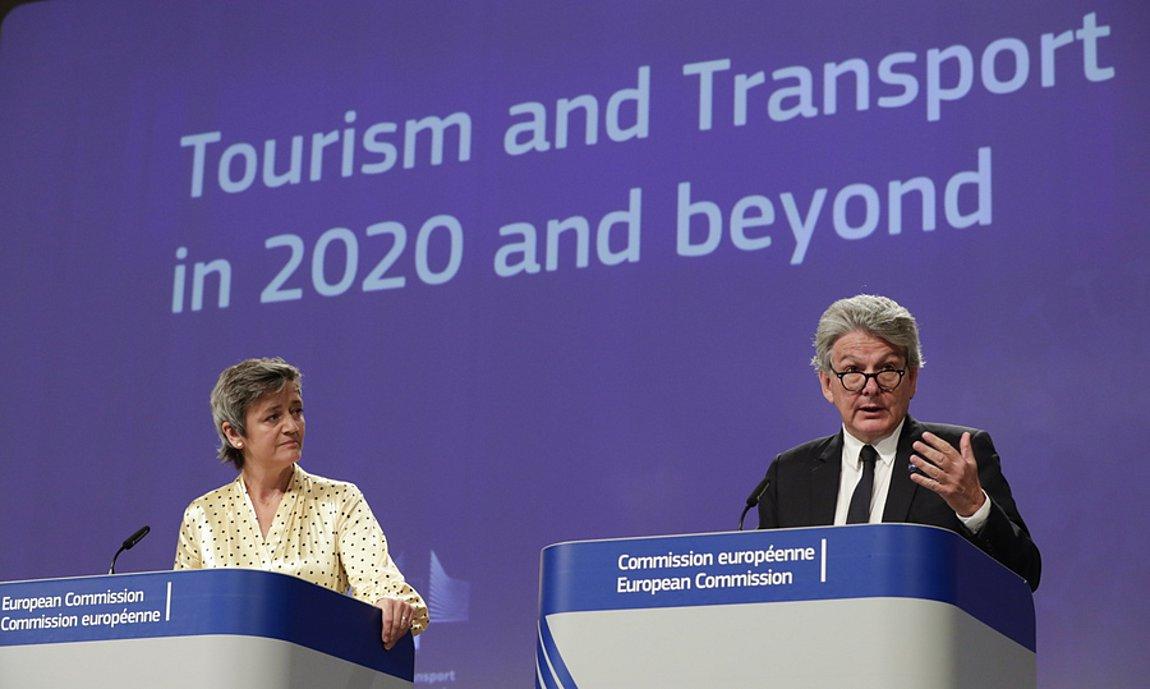 Κομισιόν: Σταδιακό το άνοιγμα των συνόρων για τον τουρισμό, εθελοντικά τα vouchers, αυστηρά μέτρα σε μεταφορές και ξενοδοχεία!