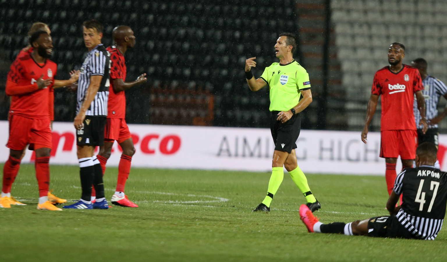 Η Μπεσίκτας ετοιμάζει καταγγελία στην UEFA για το ματς με τον ΠΑΟΚ!