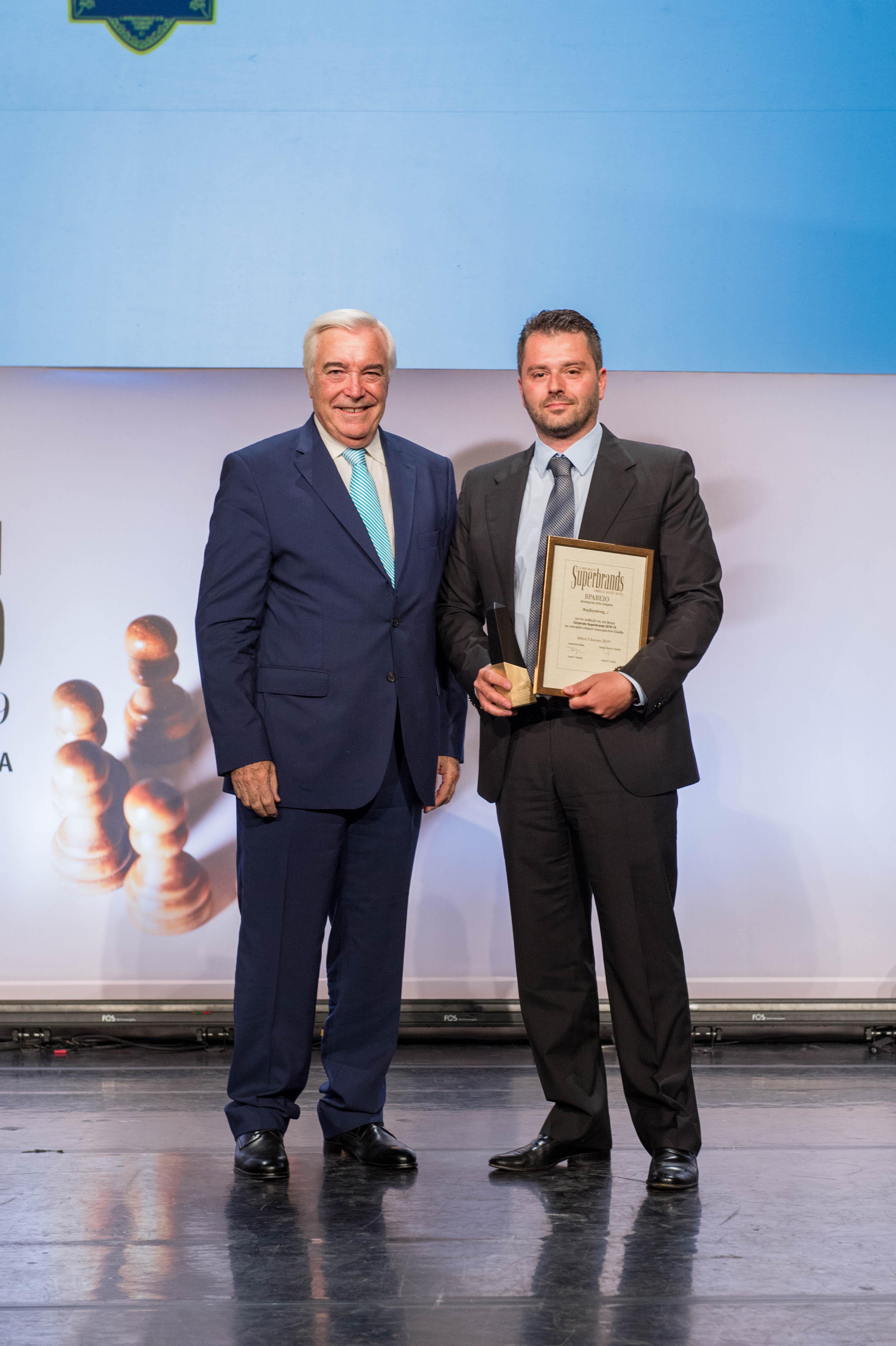 Το Ούζο Βαρβαγιάννη ξεχώρισε ως Κορυφαία Εταιρική Επωνυμία στην Ελλάδα στο διαγωνισμό των Superbrands