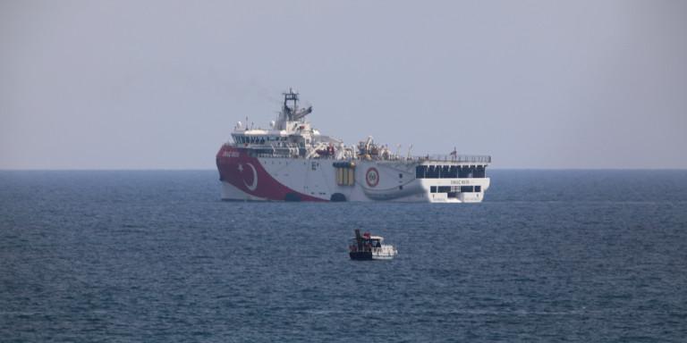 Διεθνή ΜΜΕ για Oruc Reis: Η Τουρκία ξαναστέλνει το «πλοίο της διχόνοιας» στο Καστελλόριζο!