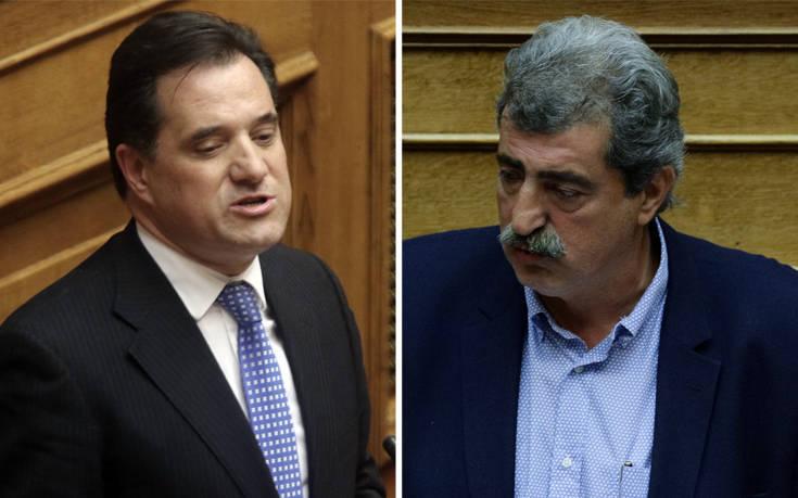 NEOΣ ΑΓΡΙΟΣ ΠΟΛΕΜΟΣ με αναφορές στον Παττακό! Πολάκης σε Γεωργιάδη: Έλα να μας βγάλεις από την αίθουσα, αν έχεις άντερα! (φωτο)
