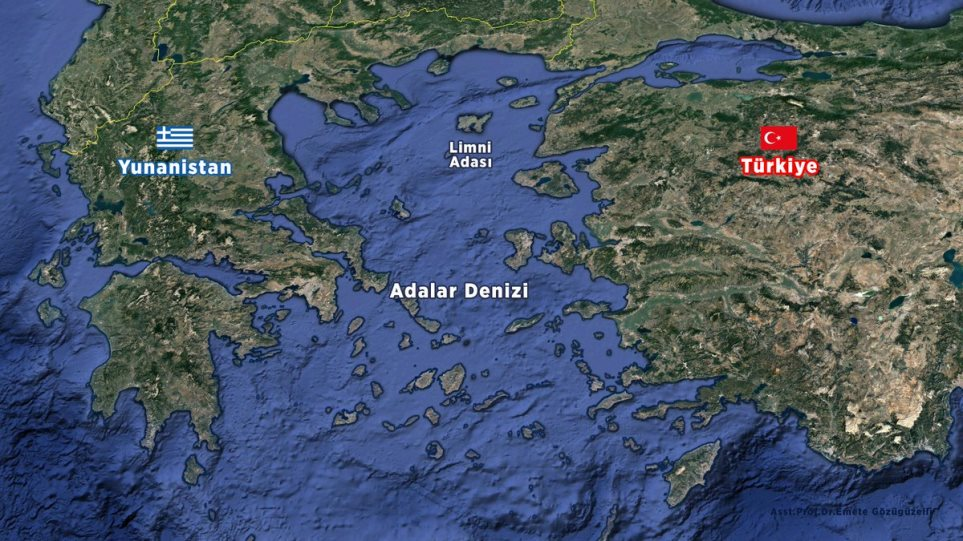 Ο θεωρητικός της «Γαλάζιας Πατρίδας» πίσω από την… μετονομασία του Αιγαίου σε «Θάλασσα των Νήσων» (φωτο)