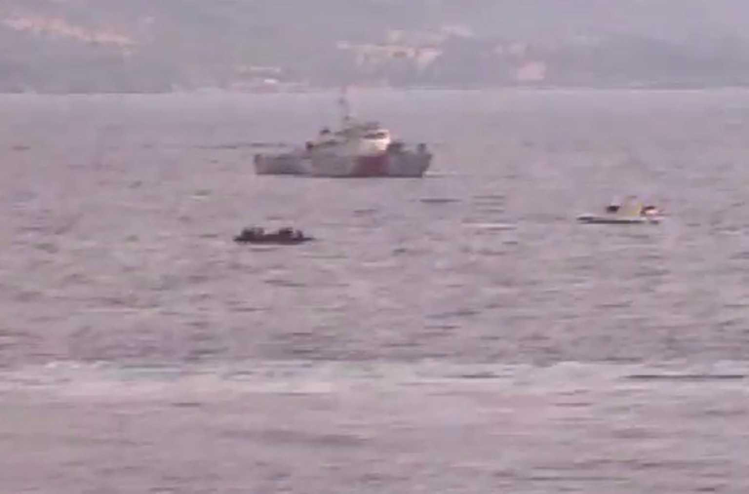 Νέα πρόκληση! Τουρκικές ακταιωροί «σπρώχνουν» βάρκα με μετανάστες προς την Λέσβο! (ΒΙΝΤΕΟ ΝΤΟΚΟΥΜΕΝΤΟ)