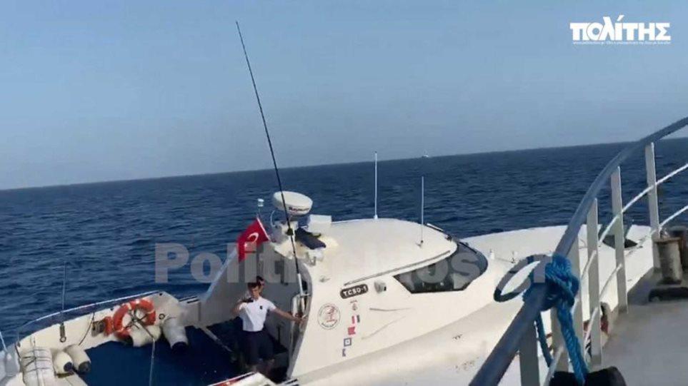 Βίντεο-ντοκουμέντο: Ακραία πρόκληση στο Αιγαίο – Τούρκοι παρενοχλούν Έλληνες ψαράδες στις Οινούσσες!