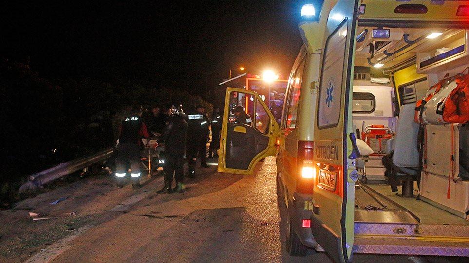 Τραγωδία στην Αλεξανδρούπολη: Δυστύχημα με δέκα νεκρούς και δύο σοβαρά τραυματίες!